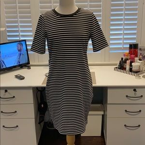 Great condition Michael Kors striped dress